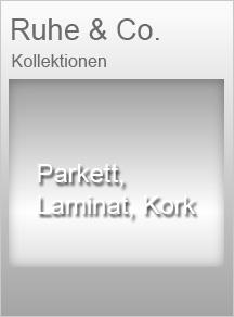 Parkett, Laminat, Kork